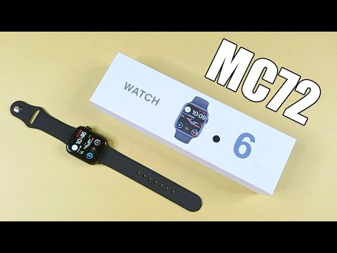 Apple Watch 6 Clone MC 72 Smartwatch Unboxing