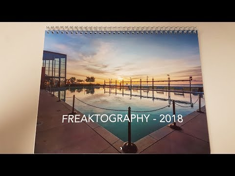 2018 Freaktography Wall Calendars For Sale!