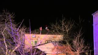 Pożar sadzy w kominie w Świerzowej Polskiej