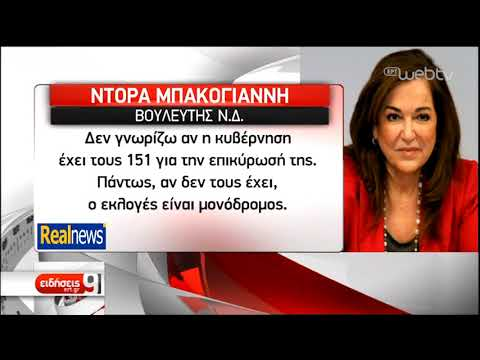 Πεδίο πολιτικής αντιπαράθεσης το Μακεδονικό   22/12/2018   ΕΡΤ