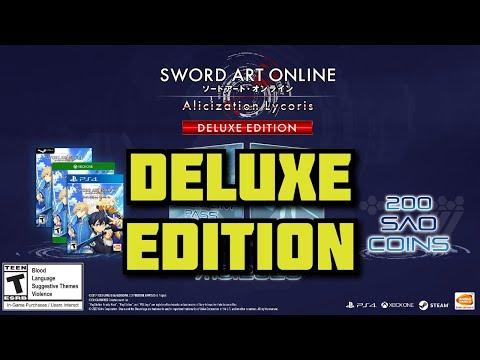 Gameplay de Sword Art Online Alicization Lycoris Deluxe Edition