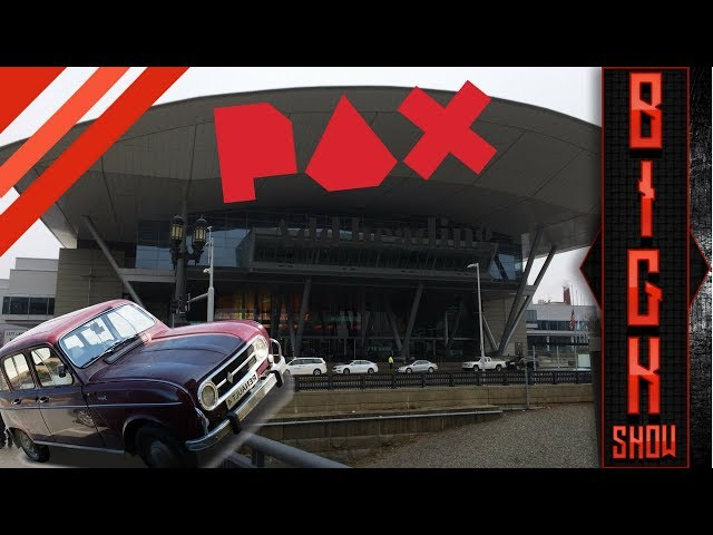 PAX East Day 0: The drive and surprises