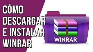 Como Descargar E Instalar Winrar Para Windows XP, 7, 8, 10