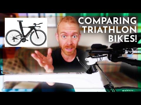 Triathlon Bikes: Cervelo vs Specialized vs Trek vs Felt vs Giant