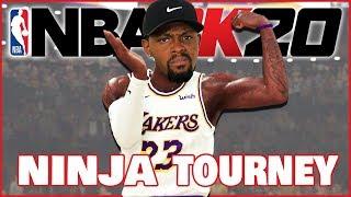 Crazy Tournament Games From Start To Finish! (Ninja Member NBA 2K20 Tourney)