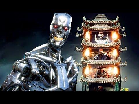 Mortal Kombat 11 Terminator T-800 Gameplay Klassic Tower Walkthrough (No Commentary)