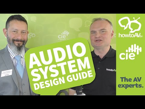 Audio System Design Guide - with Chuck Espinoza, AVIXA