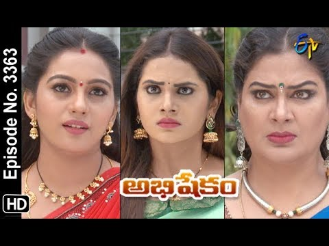 Abhishekam | 25th October 2019  | Full Episode No 3363 | ETV Telugu