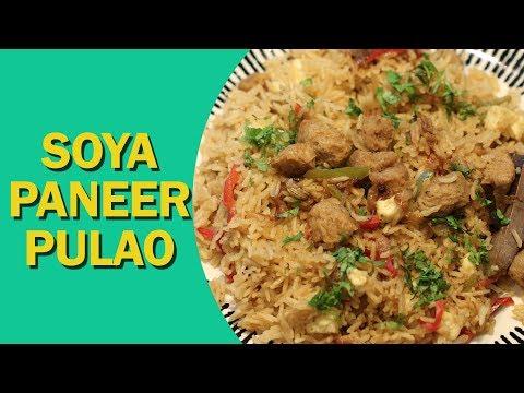 Nutrela Soya Paneer Pulao