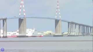 preview picture of video 'LD Lines - Norman Asturias sous le pont de St Nazaire'