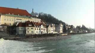 preview picture of video 'Confluence of the  rivers Steyr and Enns'