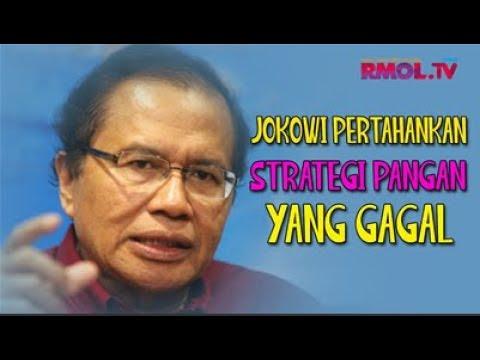 Jokowi Pertahankan Strategi Pangan Yang Gagal