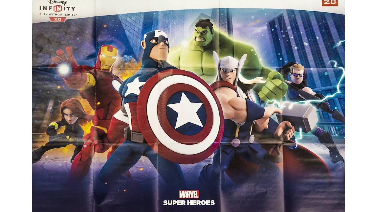 Disney Infinity 2.0: Marvel Super Heroes para PS Vita, ya a la venta
