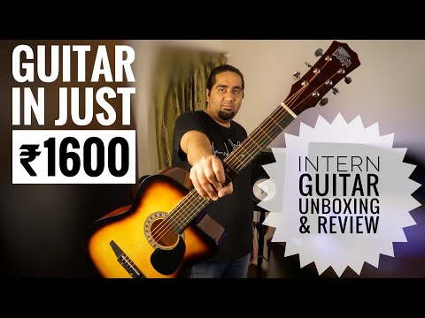 Intern Acoustic Guitar Unboxing ,Review And Sound Test   Is it really worth the price??