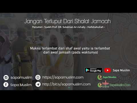 Jangan terluput dari Shalat Jama'ah