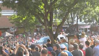 Joe Torre Hall of Fame Parade 2014 Cooperstown