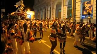 preview picture of video 'Carnival in Pinar del Rio (Cuba) 17.07.2014'
