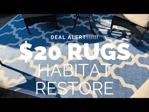 Deal ALERT 🤑 Habitat for Humanity RUN all Rugs $20