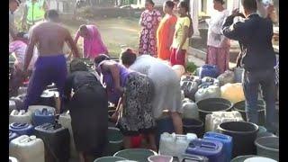 Kekeringan di Sejumlah Wilayah, Warga Bergantung pada Kiriman Air Bersih