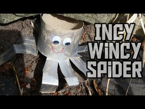Incy wincy song - toilet roll craft - easy kids craft
