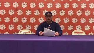 Clemson Baseball || Lee, Griffith, Davidson - 3/13/19