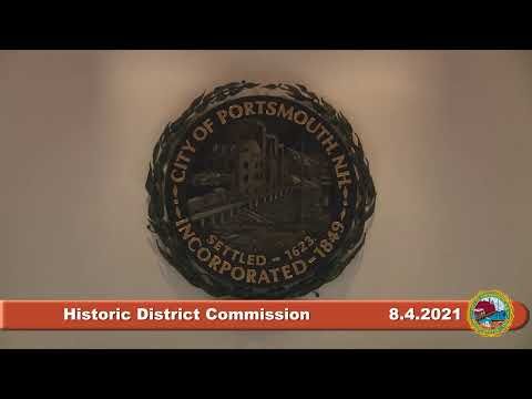 8.4.2021 Historic District Commission