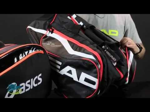 Comparativa paletero Head Monstercombi VS Asics Padel Bag