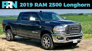 2019 RAM 2500 Laramie Longhorn 6.7L Cummins Turbo Diesel