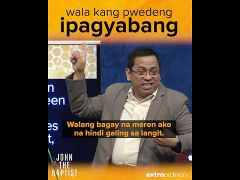 Wala Kang Pwedeng Ipagyabang - Bong Saquing - Extraordinary Snippets