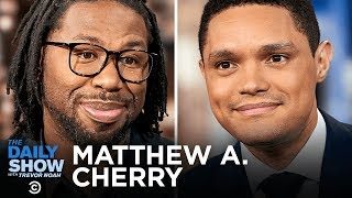 """Matthew A. Cherry - From NFL Player to Oscar-Nominated Filmmaker with """"Hair Love""""   The Daily Show"""
