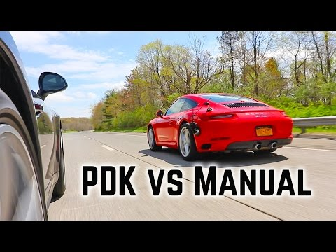 porsche 911 manual vs pdk comparison goes deep  ends with porsche carrera manual or automatic porsche 911 manual or tiptronic