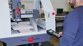 Techno CNC Router - BT1212 Benchtop Carving Foam - 3D Surfacing