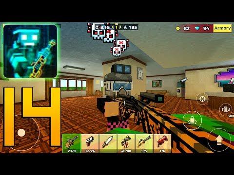Pixel Gun 3D - Gameplay Walkthrough Part 14 - Marksman Rifle
