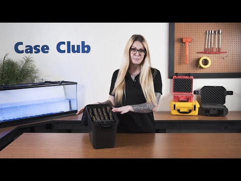 x15 AR15 Magazine & x10 Pistol Magazine Water-Resistant Box with Accessory Compartment - Featured Youtube Video