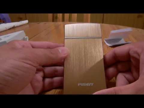 Rasierer und Powerbank in einem 2000mAh Usb Smartphone Reise Ladegerät Geschenk Idee Gadget