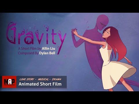 gravity beautiful love story 2d animation by ailin liu