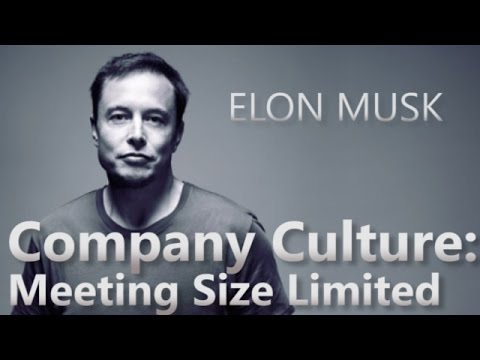 Jak probíhá porada s Elonem Muskem