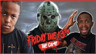 MY LITTLE BROTHER LEFT ME TO DIE! - Friday The 13th Gameplay Ep.9