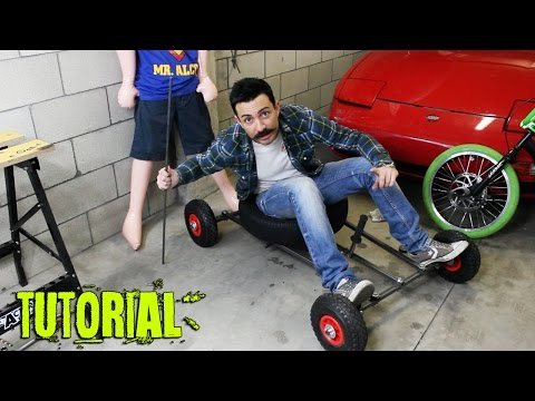 Come costruire un carretto da discesa - how to make a grass kart