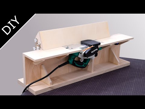 Make a Benchtop Jointer