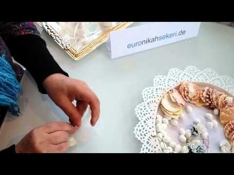 Nnikah sekeri Yapimi - Nikah Sekeri Tarifi - Hochzeitsmandel Herstellung