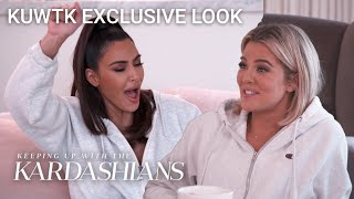 Did Kim Kardashian Really Boo Tristan Thompson at NBA Game? | KUWTK Exclusive Look | E!