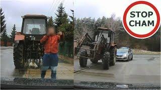 Wymuszenie przez pijanego traktorzystę i spotkanie z Policją #174 Wasze Filmy