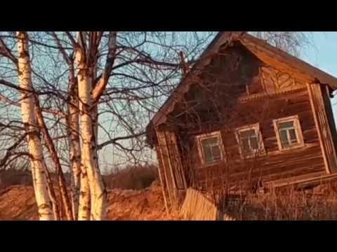 После ледохода в Архангельской области смыло старый дом