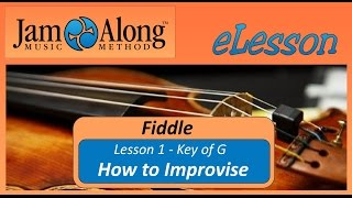 How to improvise bluegrass fiddle!
