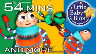 Itsy Bitsy Spider | Part 3 | Plus More Nursery Rhymes And Kids Songs | Little Baby Bum