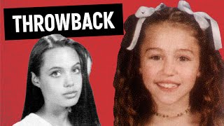 10 Awkward Celebrity Yearbook Photos Before They Were Famous PART 2  Throwback