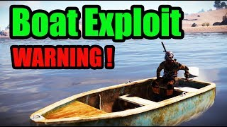 RUST Boat Exploit Warning - Rust Base Building 3.0