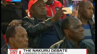 The Nakuru Gubernatorial Debate as five candidates tackle issues: Kivumbi 2017