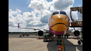 preview picture of video 'นกแอร์ DD7406  บินวนชมเกาะก่อนลงสนามบินตรัง'
